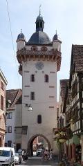 Tour dite Tour Neuve ou Tour de l'Horloge - Français:   Tour de l\'Horloge à Sélestat (Bas-Rhin, France).