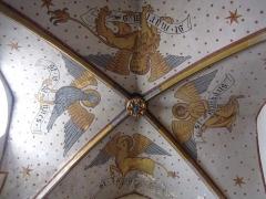 Eglise protestante Saint-Pierre-le-Jeune - Alsace, Bas-Rhin, Église protestante Saint-Pierre-le-Jeune de Strasbourg (PA00085030). Chapelle St-Nicolas (XIVe): Fresques néo-gothiques (XIXe)
