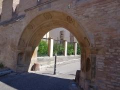 Ancien Hôtel de Rathsamhausen - English: Remains of the medieval Strasbourg city wall