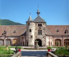 Château de Thanvillé - Français:   Photo du Chateau de Thanvillé avec vue sur la cour du Château