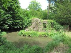 Ancien domaine de Windeck, dit Foyer de Charité - English: Altkeller Castle seen from west