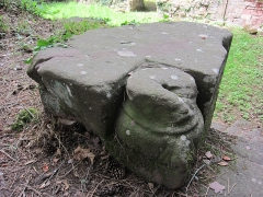 Ancien domaine de Windeck, dit Foyer de Charité - English: column base