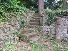 Ancien domaine de Windeck, dit Foyer de Charité - English: stairs