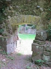 Ancien domaine de Windeck, dit Foyer de Charité - English: door in the northern wall