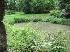 Ancien domaine de Windeck, dit Foyer de Charité - English: pond in front of Altkeller Castle