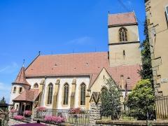 Eglise catholique Saint-Bernard-de-Menthon - Français:   Eglise de Ferrette