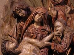 Eglise catholique de l'Invention de la Sainte-Croix - Français:   Alsace, Haut-Rhin, Église Sainte-Croix (XIIIe-XVe-XVIe) de Kaysersberg (PA00085477, IA68000563)  Relief de la \