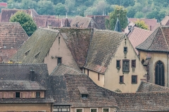 Hôtel de ville - English: View of the town hall of Kaysersberg, Haut-Rhin, France
