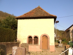 Cimetière -  Lièpvre, L'Ossuaire, à côté de l'église de l'Assomption à Lièpvre