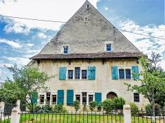 Ancien tribunal - Français:   Maison appelée tribunal de Lutter, datée de 1542