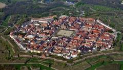 Remparts - Remparts de Neuf-Brisach, Neuf-Brisach, Haut-Rhin, Alsace, France.