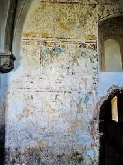 Chapelle Saint-Martin (chapelle du cimetière) - Français:   Fresques, dans l\'église Saint-Martin-des-Champs