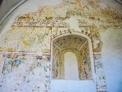Chapelle Saint-Martin (chapelle du cimetière) - Français:   Fresques, dans l\'église