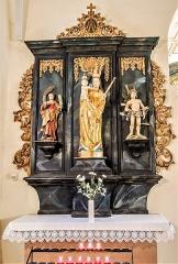 Chapelle Saint-Martin dite Hippoltskirch - Français:   Autel et retable de la Vierge
