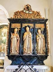 Chapelle Saint-Martin dite Hippoltskirch - Français:   Autel latéral de la chapelle Saint-Martin