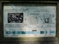 Ruines du château de Hagueneck - English: board