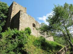 Ruines du château de Hagueneck - English: view from south