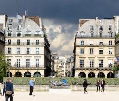 Statue de Jeanne d'Arc -  paris-101