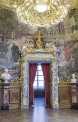 Théâtre de l'Opéra-Comique, dit salle Favart - Scène de la foire Saint Laurent - Fresque de Henry Gervex - Foyer de l'Opéra Comique