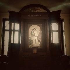 Temple de l'Humanité ou du Positivisme - Français:   Autel Chapelle de l\'Humanité (2015)