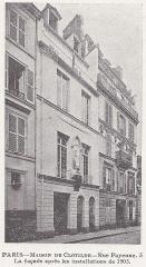 Temple de l'Humanité ou du Positivisme - Français:   Facade rue Payenne 1905