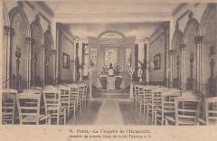 Temple de l'Humanité ou du Positivisme - Français:   Photo de la chapelle de l\'Humanité prise dans les années 1910, extraite des archives de la Maison d\'Auguste Comte