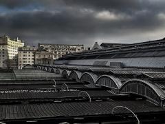 Gare de l'Est - English:   Rue d\'Alsace, Paris, France