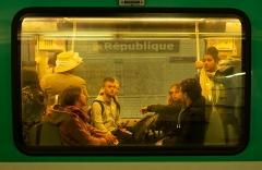 Métropolitain, station République -  Métro-2