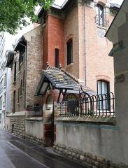 Hôtel Jassedé - Français:   Hôtel Jassedé, 41 rue Chardon-Lagache (Paris, 16e).