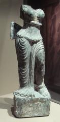 Musée Guimet - English:   Dharmarajika statuette photographed at Musee Guimet