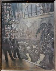 Moulin de la Galette - Español:   Le Moulin de la Galette por Charles Maurin (ca. 1894). Pastel sobre papel.