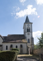 Eglise -  Saint Severus parish church, view from the press Lane.