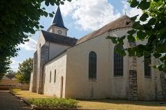 Eglise -  Saint Severus parish church, view from the General de Gaulle street.