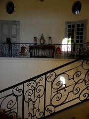 Domaine national - Escalier d'honneur du château de Champs-sur-Marne (77).