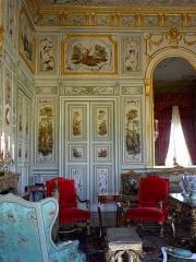 Domaine national - Salon chinois du château de Champs-sur-Marne (77).
