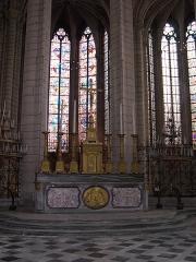 Cathédrale Saint-Etienne - Français:   Maître-autel de la cathédrale Saint-Etienne à Meaux (Seine-et-Marne - France).