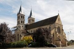 Eglise Notre-Dame -  Our Lady collegiate church in Melun
