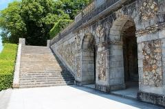 Château de Vaux-le-Vicomte - Français:   Le «Confessional» des jardins du château de Vaux-le-Vicomte - Maincy (Seine-et-Marne, France).