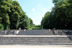 Château de Vaux-le-Vicomte - Les Grilles d'Eau des jardins de Vaux-le-Vicomte - Maincy (Seine-et-Marne, France).
