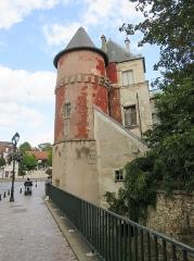 Ancien château d'Yerres -  Vue du château de Budé à Yerres en août 2020 / (Yerres, Essonne, France)