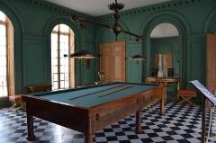 Domaine national de la Malmaison - Salle de billard - Château de Malmaison