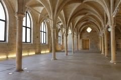 Ancien couvent des Bernardins - Français:   La nef du collège des Bernardins à Paris.