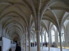 Ancien couvent des Bernardins - Français:   Vue de la nef du Collège des Bernardins
