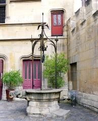 Ancien hôtel de Cluny et Palais des Thermes, actuellement Musée National du Moyen-Age - Rue du Sommerard (n°24 hôtel de Cluny) - Paris V