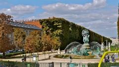 Fontaine de Carpeaux -  P1090025 France, Paris, l'extrémité sud du jardin du Luxembourg, la fontaine «Les Quatre Parties du Monde»