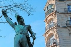 Monument du Maréchal Ney -  Notre-Dame-des-Champs / Avenue de l'Observatoire Marechal Ney memorial statue François Rude  1853