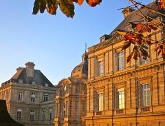 Palais du Luxembourg, actuellement Sénat - Palais du Luxembourg (Sénat) le 14 octobre 2017