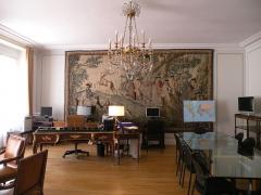 Anciens hôtels de Brienne et de Broglie, actuellement ministère de la défense - Bureau du conseiller diplomatique de l'Hôtel de Brienne