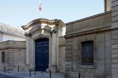 Hôtel de Noirmoutier ou de Sens, actuellement résidence du préfet de région -  Un monument historique dans le 7ème arrondissement de Paris.