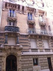 Immeuble -  Squarre Rapp nr 3  backside, paris FR
